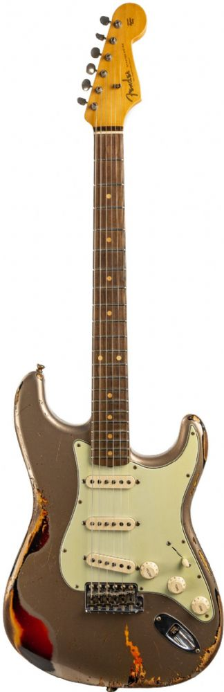 Fender Custom Shop 1960 Heavy Relic Strat Shoreline